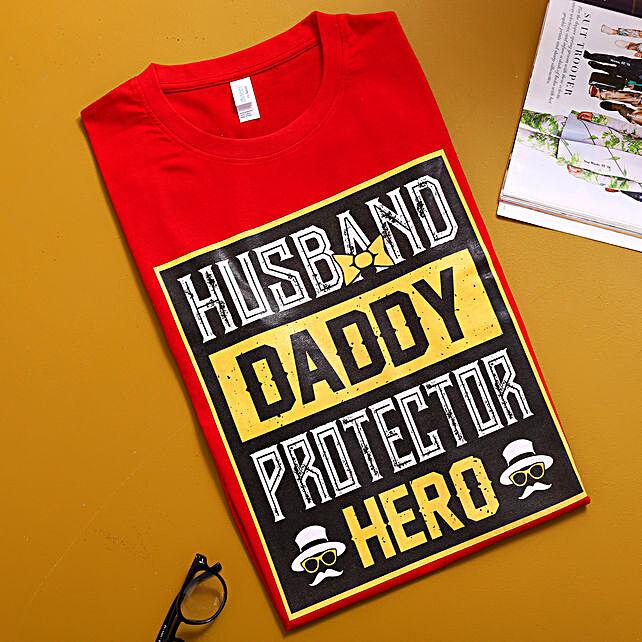Protector Hero Daddy TShirt