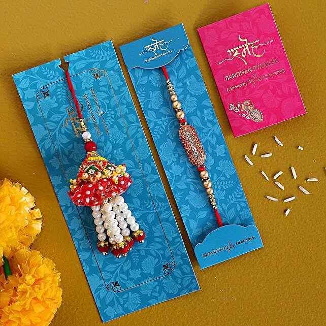 Send Online Rakhi Set:Send Rakhi Best Seller Gifts