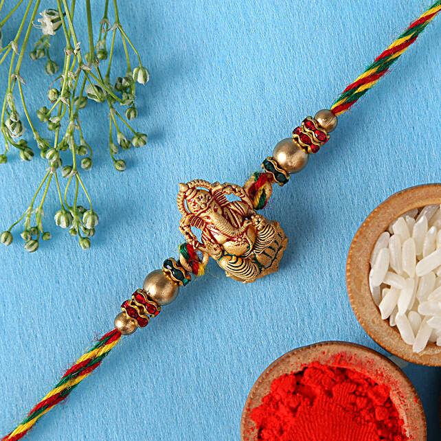 Authentic Design Ganesha Rakhi