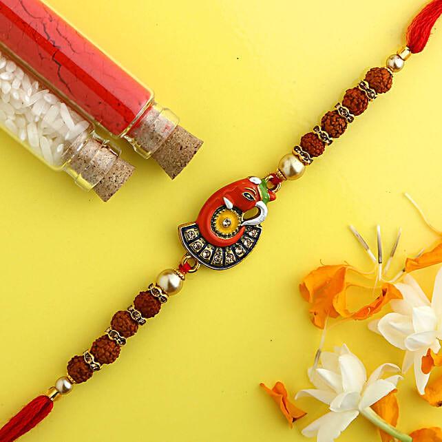 Beautiful Ganesha Rakhi