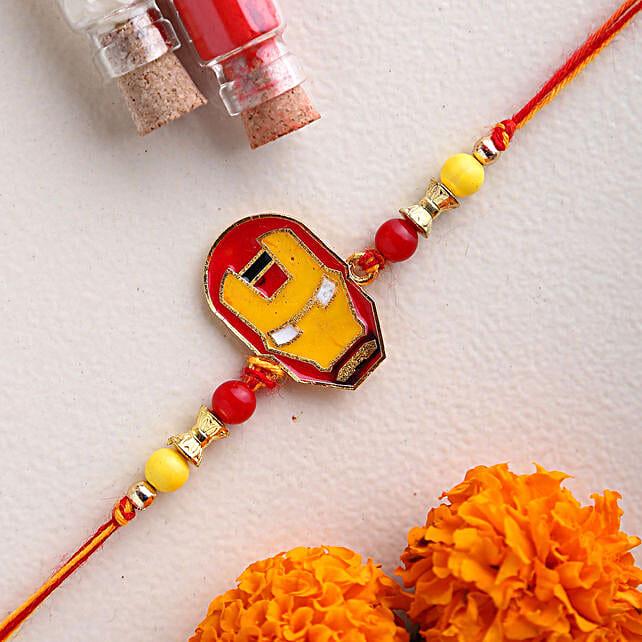 Ironman Kids Rakhi:Send Cartoon Rakhi