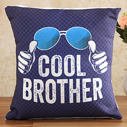 Cool Brother Printed Cushion