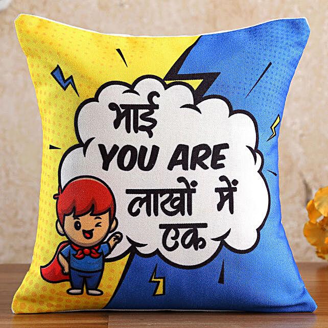 Lakhon Mein Ek Bhai Cushion