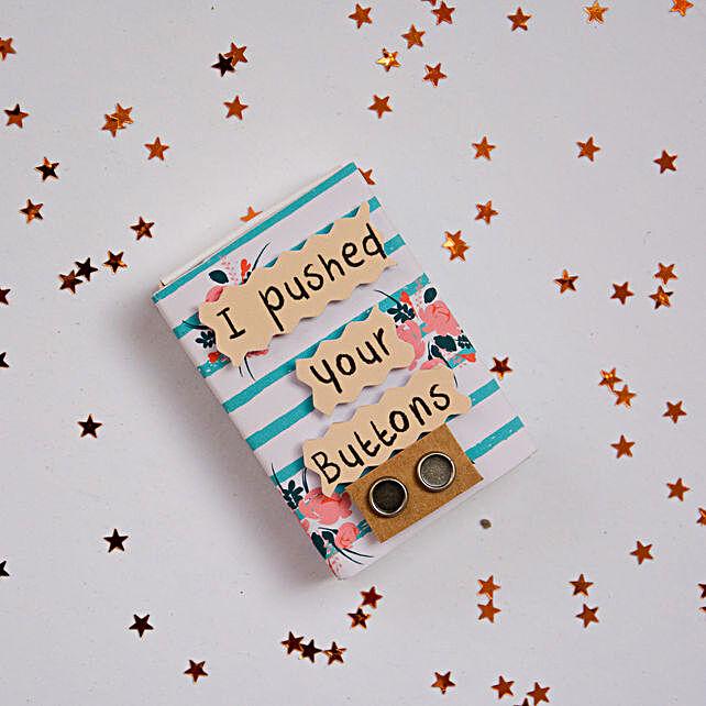 Sorry Magnet Matchbox:Fridge Magnets Gifts