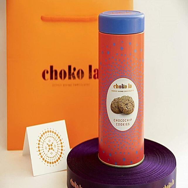 Chokola Eggless Chocochip Delicious Cookies Tin:Diwali Cookies