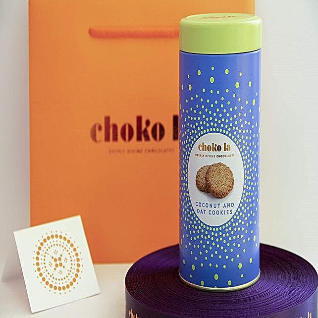 Chokola Eggless Oats and Coconut Cookies Tin:Diwali Cookies