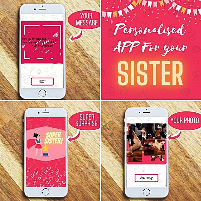 Personalised Rakhi Puzzle APP For Sister