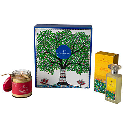 Valley Of Flowers EDP & Tea Rose Candle