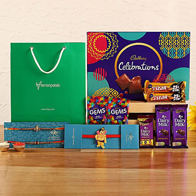 3 Ethnic Rakhis and Cadbury Celebrations:Raksha Bandhan Chocolates
