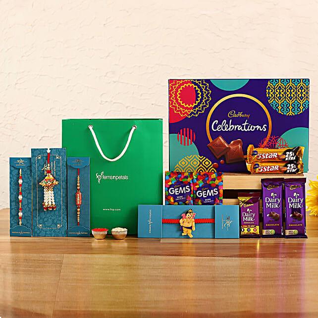 4 Traditional Rakhis and Cadbury Celebrations