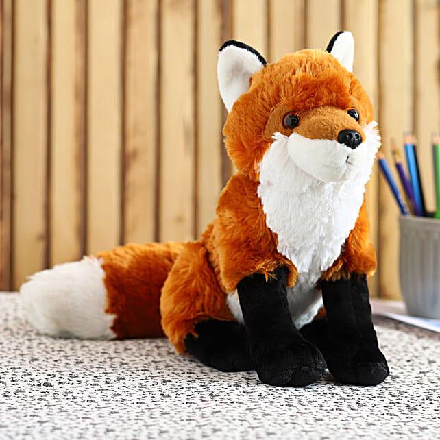 Wild Republic Clever Eyes Fox Soft Toy