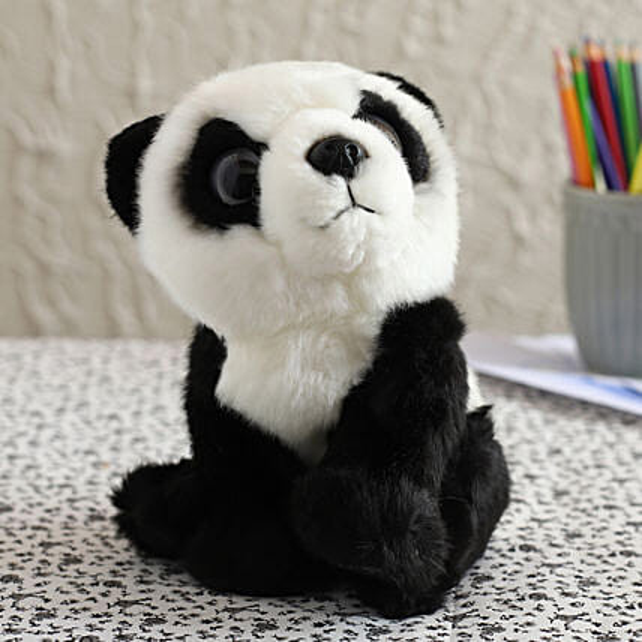 Wild Republic Watchers Panda Soft Toy