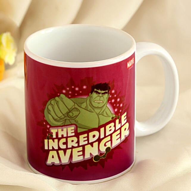 Marvel Hulk Mug Hand Delivery