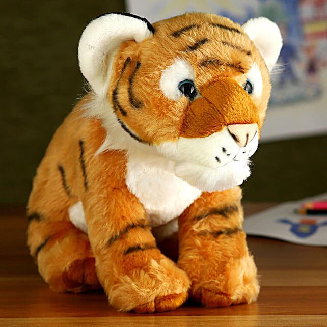 Wild Republic Cuddlekin Plush Tiger Cub Soft Toy