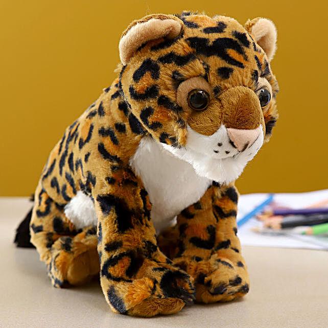 Wild Republic Plush Baby Leopard Soft Toy