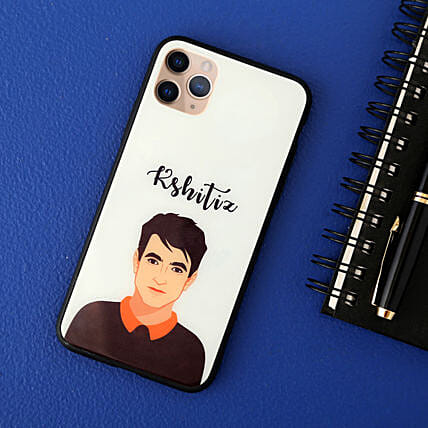 Personalised Iphone 12 Pro Max Mobile Cover