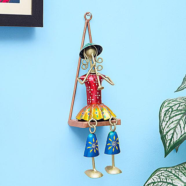 Multicoloured Musician Doll Wall Decor