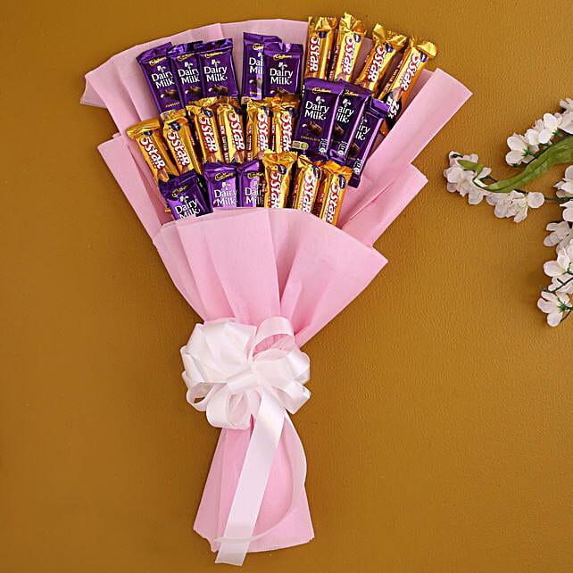 Assorted Cadbury Chocolates Bouquet