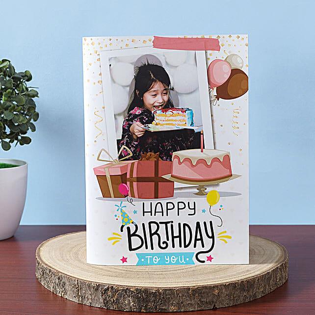 Personalised Happy Birthday Greeting Card:Send Personalised Greeting Cards