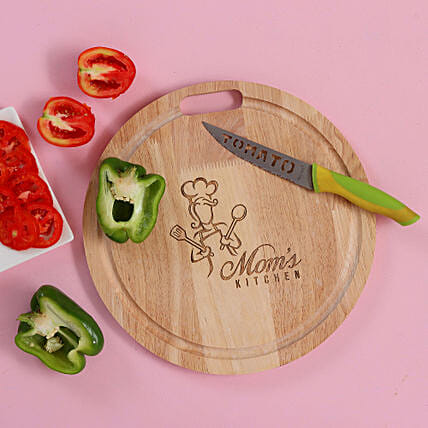 Wooden Round Chopping Board