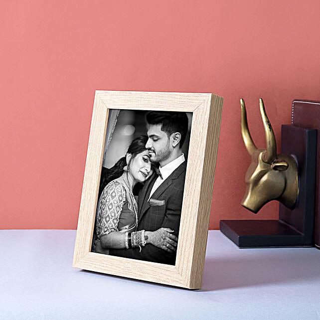Personalised Brown Photo Frame