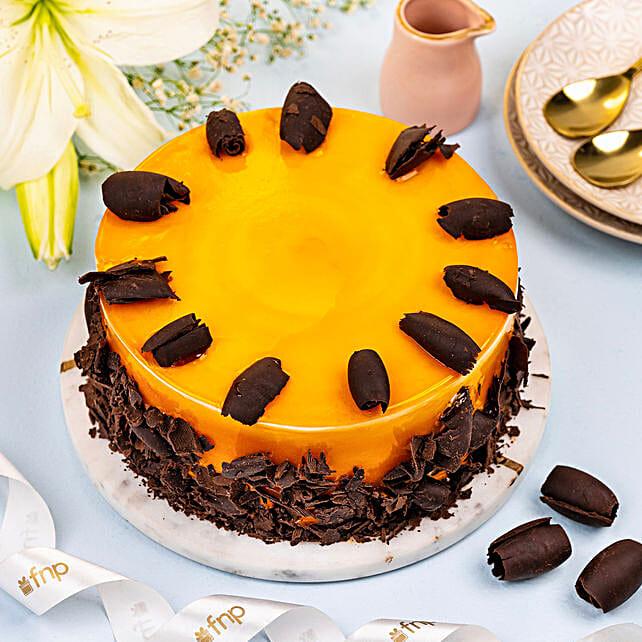 Tempting Mango Cake:Send Mango Cakes