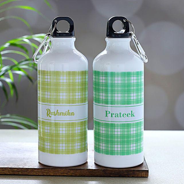 Personalised Best Water Bottle Set