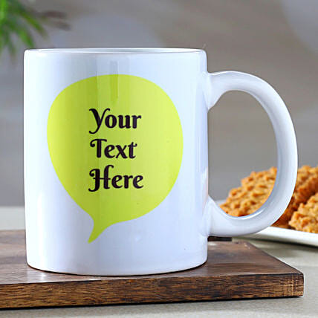 Personalised Message Mug