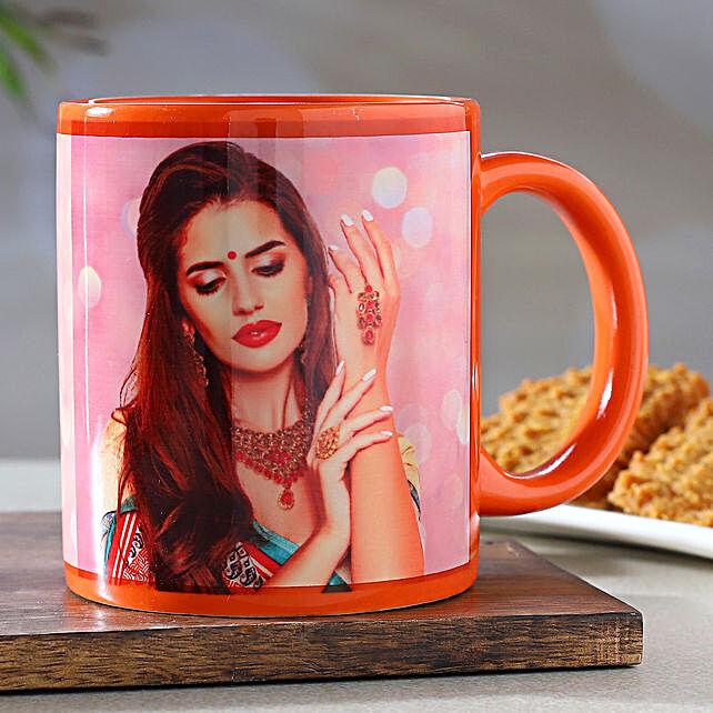 Personalised Orange Mug