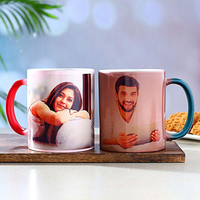 Set Of 2 Personalised Magic Mugs