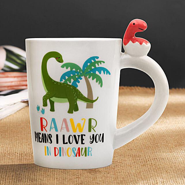 Rawr 3D Dinosaur Mug