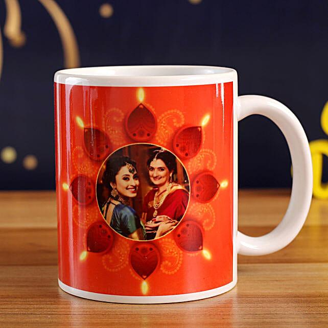 Personalised Festivity Special Mug:Personalized Diwali Gifts