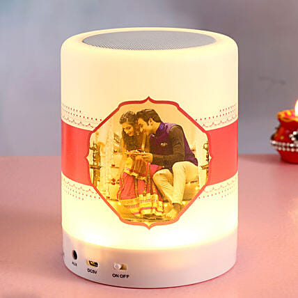 Personalized Bluetooth LED Speaker