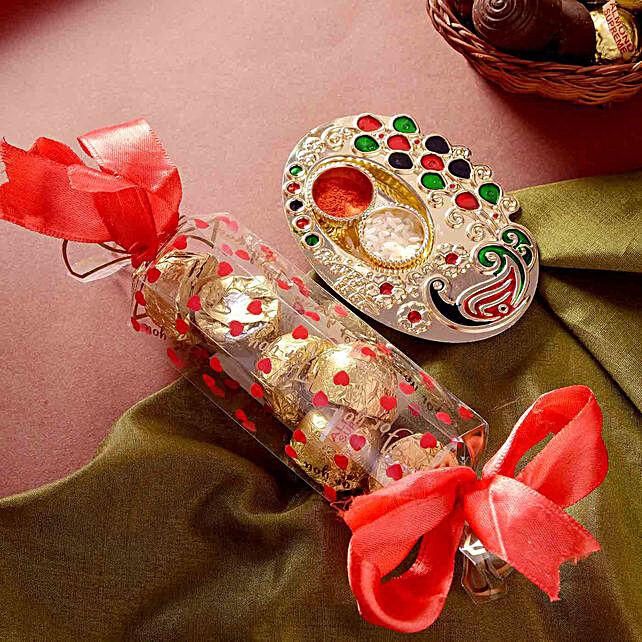 Handmade Chocolate Toffee Box Bhai Dooj Hamper
