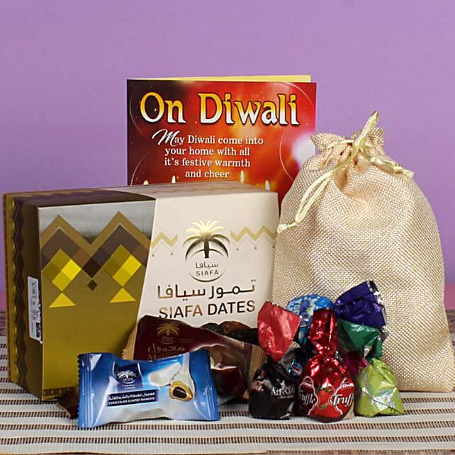 Blissful Diwali Assorted Chocolates & Dates