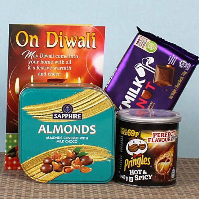 Chocolates & Pringles Diwali Gift Hamper