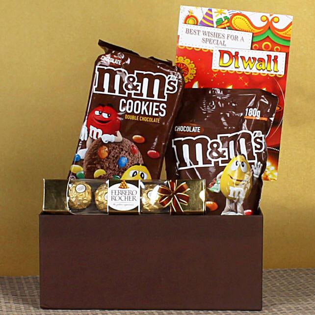 Delectable Chocolates & Cookies Diwali Hamper