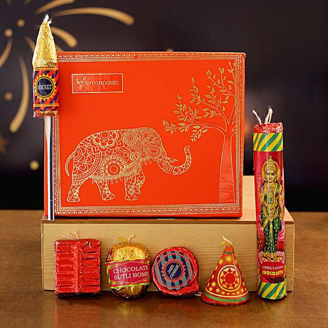 Diwali Crackers Chocolates