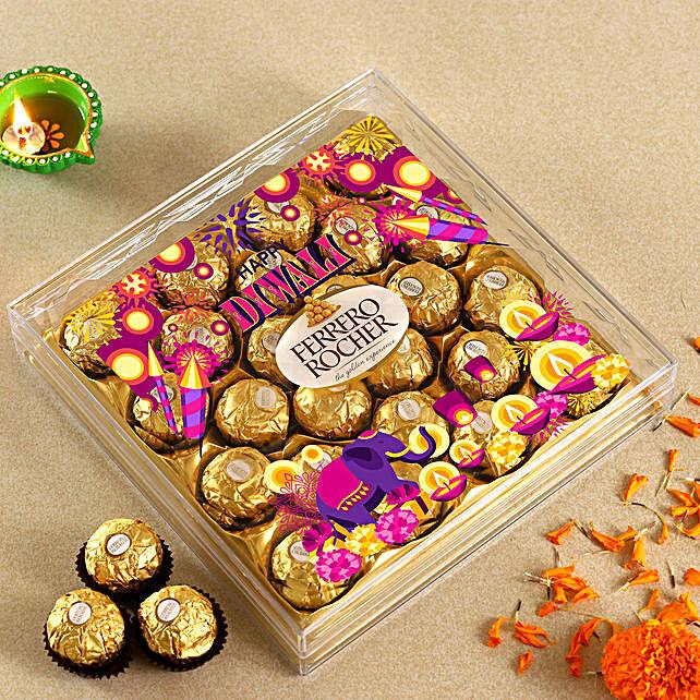 Sparkling Diwali Ferrero Rocher Box