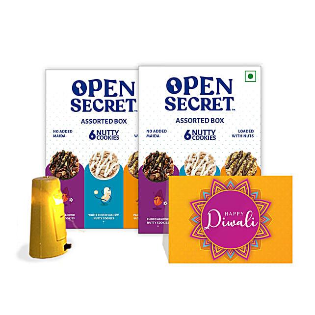 Diwali Special Open Secret Cookies Hamper