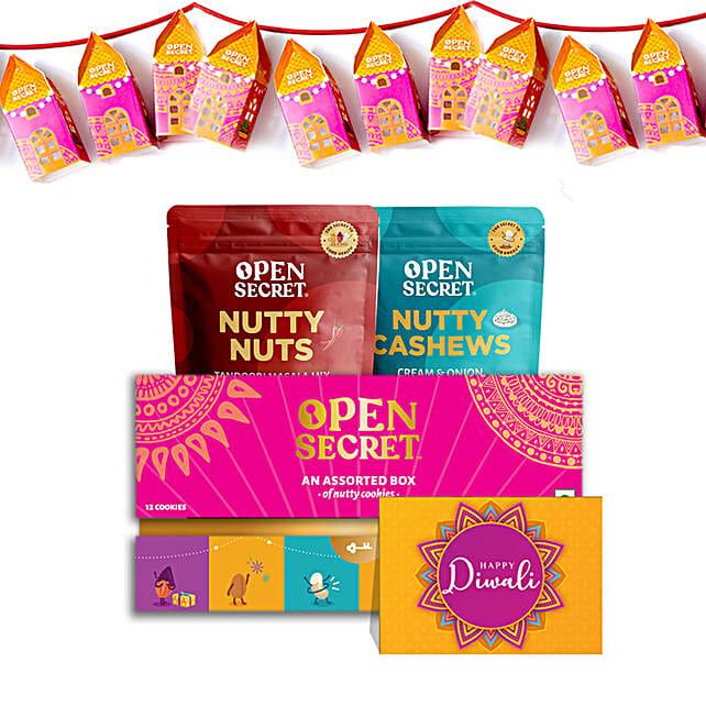 Prosperous Diwali Open Secret Savoury Nuts Hamper
