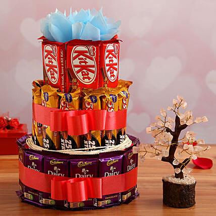 Valentine's Day Chocolates & Wish Tree Combo