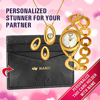 personalised card holder for vday:Personalised Accessories