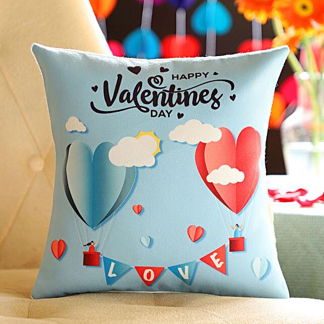 Online Valentine's Day Cushion