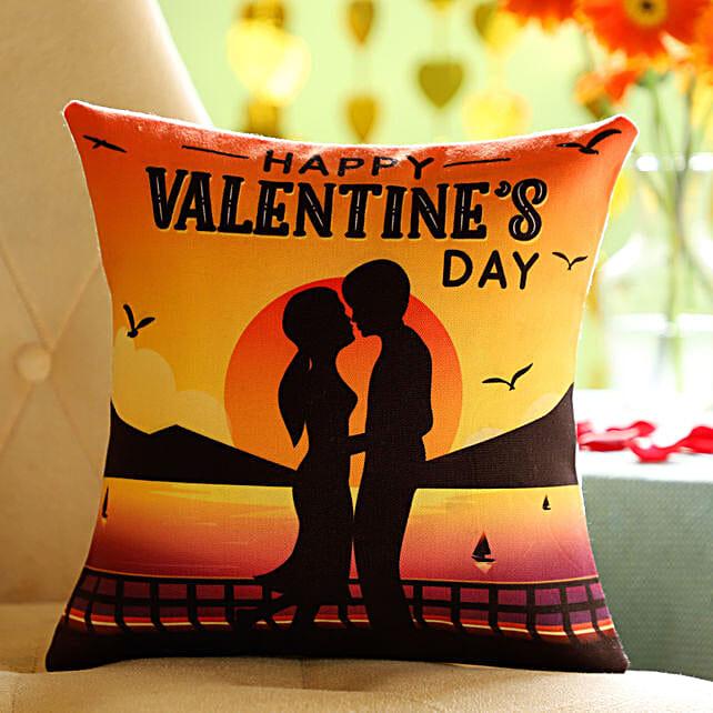 Online Valentine's Day  Wishes Cushion