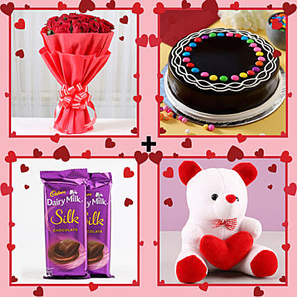 multiple love combo set for valentine's day