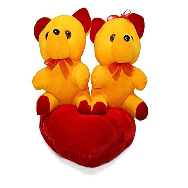 Online Orange Couple Teddy