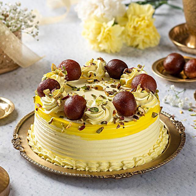 rasagulla vanilla cake
