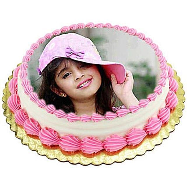 Vanilla Photo Cake1kg