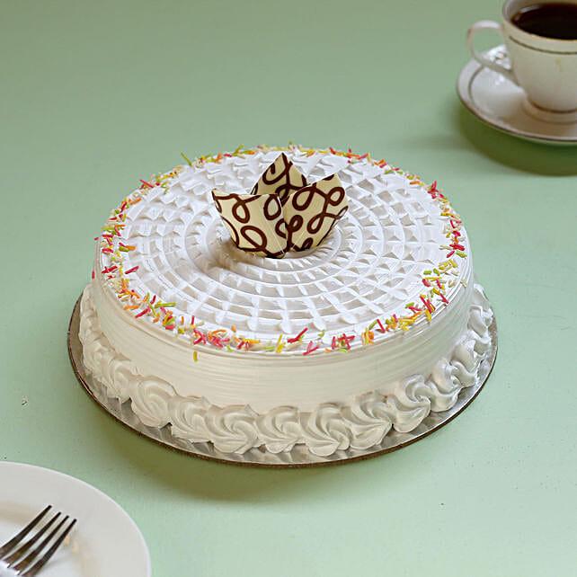Tasty vanilla cake online